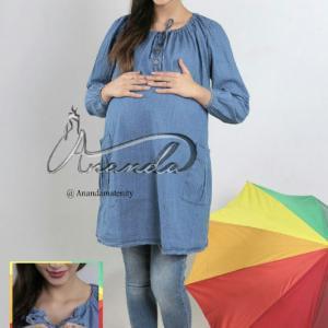 تونیک بارداری جین خالدار