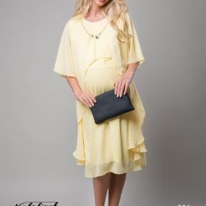 تونیک بارداری حریر شیفون گردنبندی