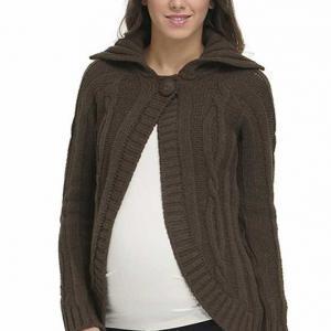 ژاکت بارداری کش باف پشمی ونیز