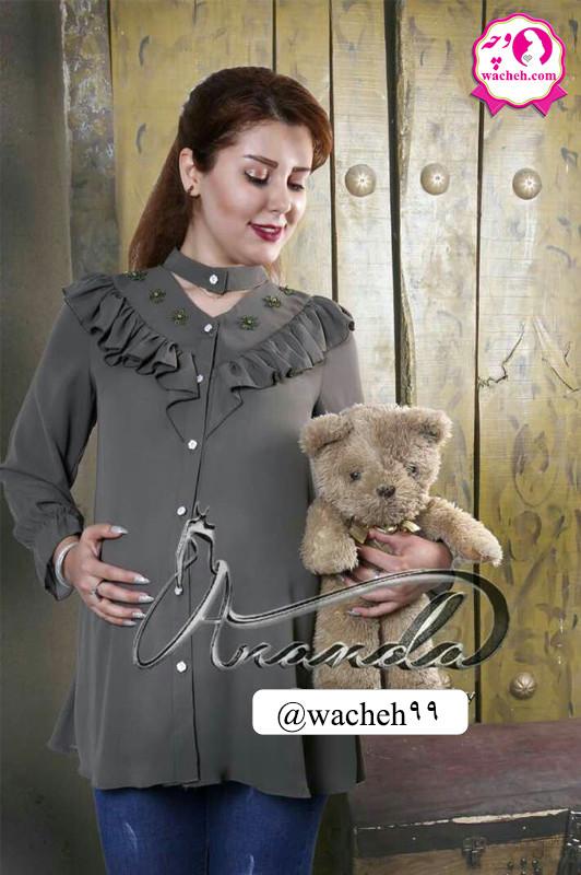 شومیز بارداری و شیردهی مجلسی مدل فرشته