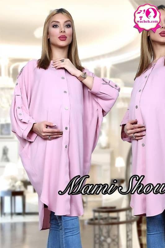 مانتو بارداری و شیردهی مدل میلانو