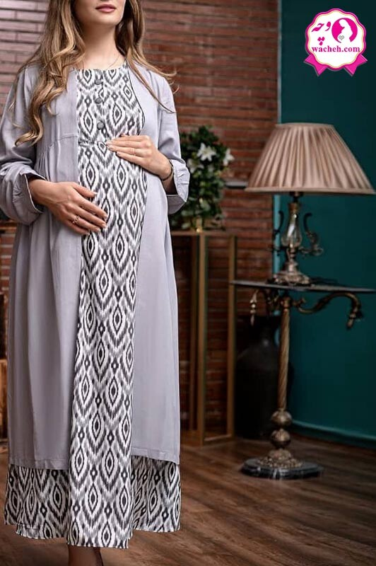 مانتو و سارافون بارداری و شیر دهی نقشین