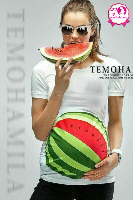 تونیک بارداری طرح هندوانه یلدا