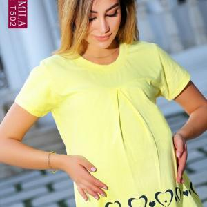 تی شرت بارداری قلبی بهارک