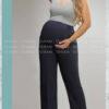 شلوار بارداری نخی از بالا گشاد نسیم