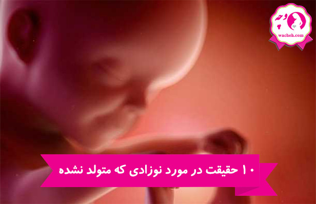 10 حقیقت در مورد نوزادی که متولد نشده