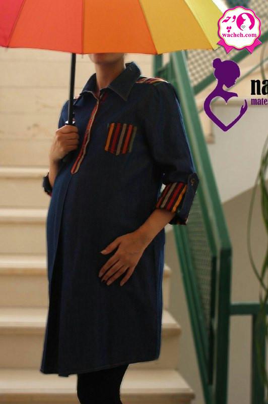 تونیک مانتو بارداری جین سنتی