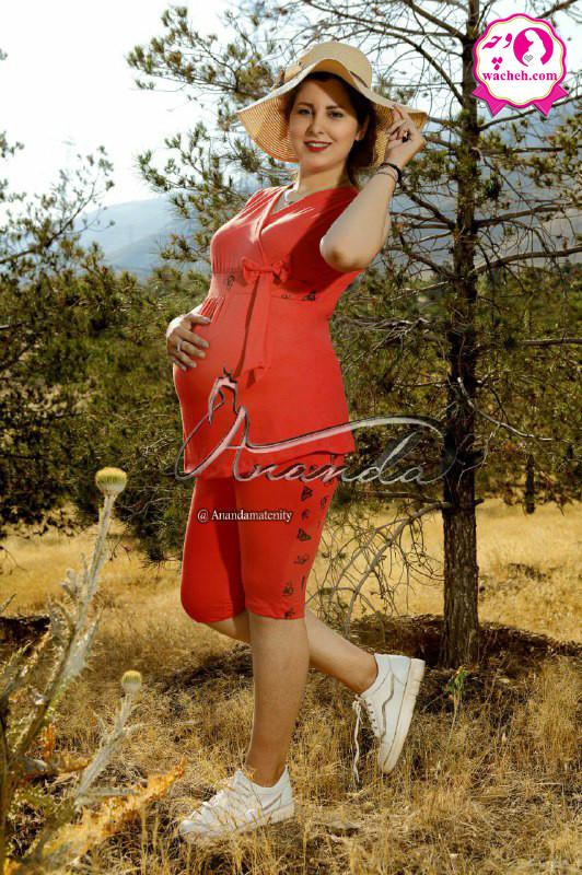 تاپ و شلوارک بارداری درسا