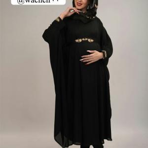 مانتو بارداری پانچو گلدوزی شده