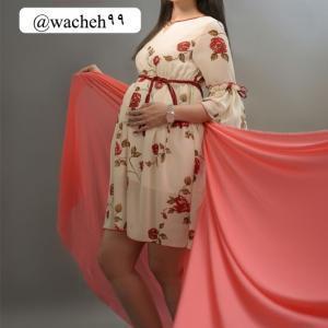 تونیک بارداری حریر گل آرا