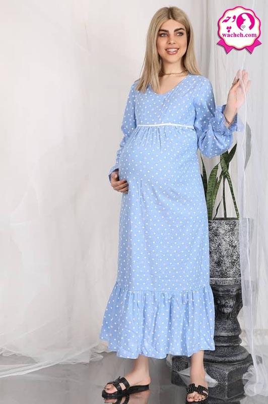 پیراهن بارداری بنفشه وچه