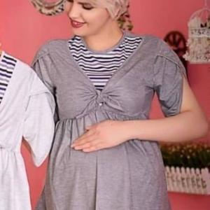 تونیک بارداری و شیردهی آستین لاله ای آناندا