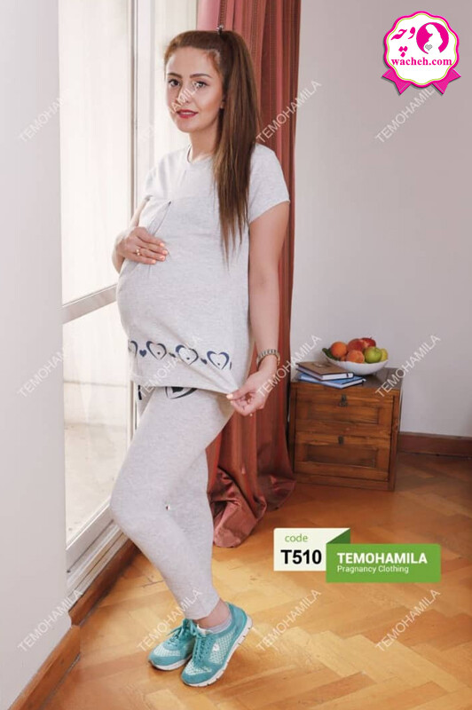تی شرت شلوار بارداری راحتی پارمیدا