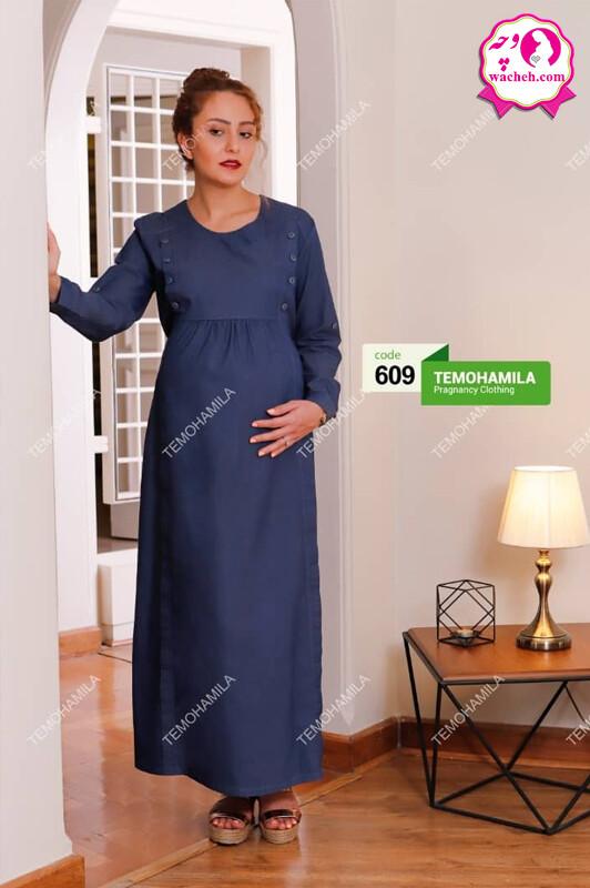پیراهن مانتو ماکسی بارداری و شیردهی آلاله