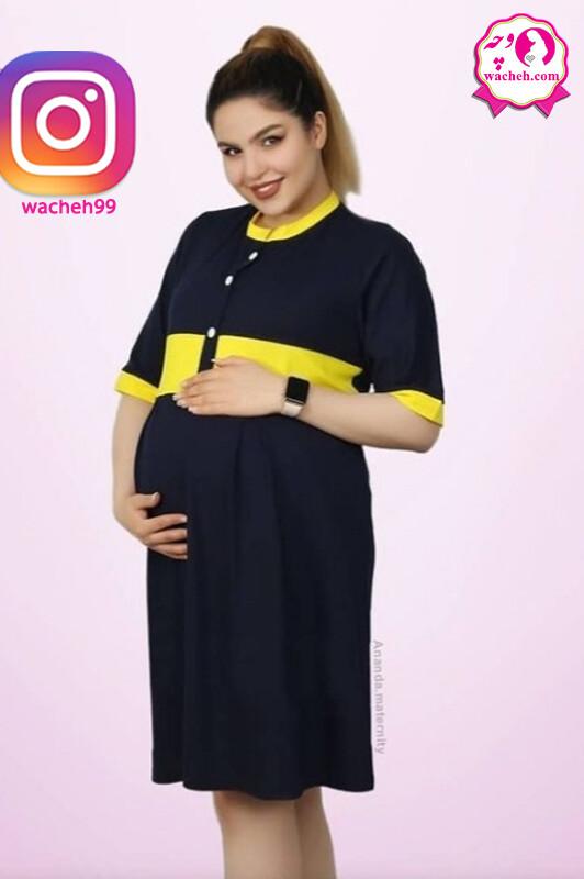 پیراهن بارداری و شیردهی تاینا
