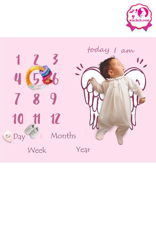 پارچه ماهگرد نوزاد الپی کیدز
